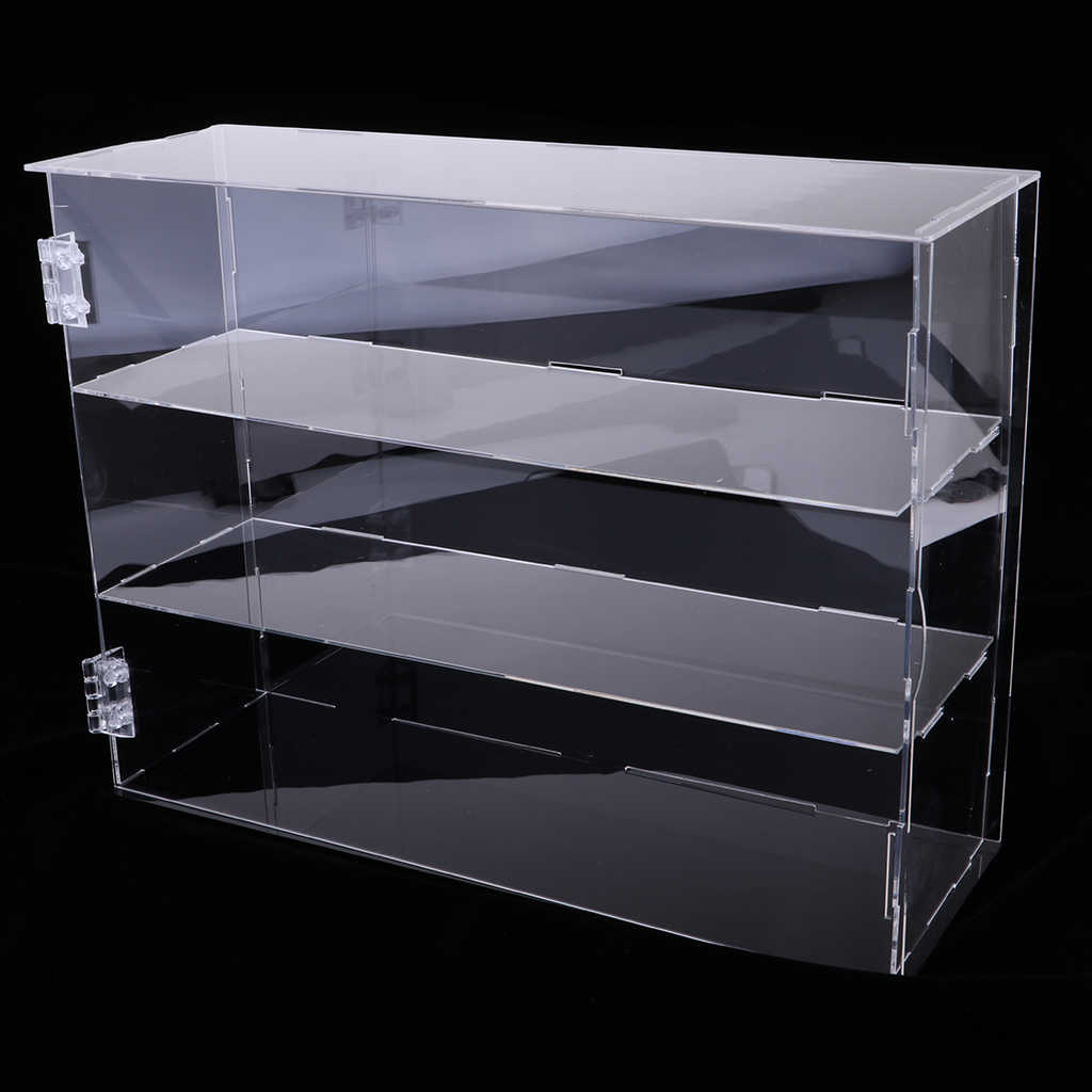 Diy Clear Acrylic Tv Action Figure Display Case Jewelry Show Box Dustproof 24x7x33cm Display Box Vitrina Expositora Figuras