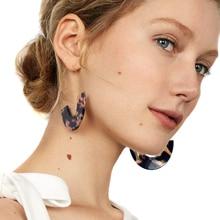 JUJIA 6 colors New Free shipping statement Earrings for women wholesale drop vintage resin earring