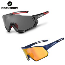 ROCKBROS Bicycle Glasses Polarized Photochromic MTB Road Bike Ultra-light Eyewear Outdoor Sports Sunglasses Cycling Equipment rockbros discoloration cycling glasses with light mtb mountain bicycle sunglasses oculos masculino gs0004