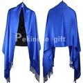 Primavera Otoño Nueva Señora Azul de Algodón Del Mantón de La Bufanda de Estilo Chino Mujere silenciador Hijab Pashmina Bufanda Chal 190x70 cm G0019