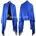 Spring Autumn New Blue Lady Cotton Shawl Scarf Chinese Style Muffler Pashmina Hijab Mujere Bufanda Chal 190 x 70 cm G0019