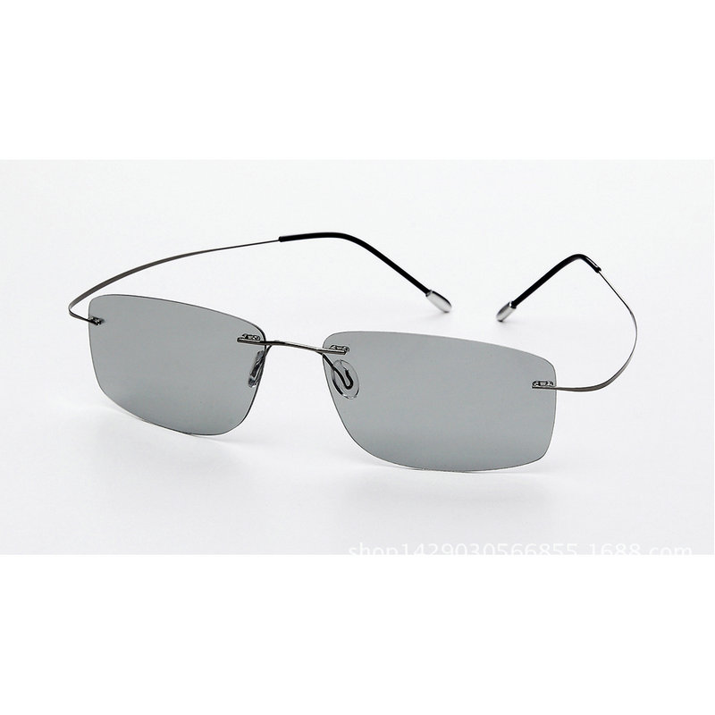 (5s change color) change color sunglasses men's and women's titanium polarized sunglasses chameleon boundless glare driving NX 3