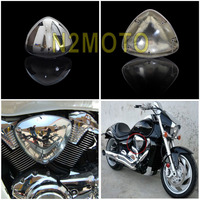 High Chrome ABS Plastic Motorcycles Intake Air Filter Cleaner Cover for SUZUKI BOULEVARD M109 M109R VZR1800 2005 2016