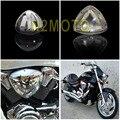 Par de Alta Cromo Plástico ABS Motocicletas Limpiador de Filtro de Aire De Admisión para BULEVAR M109 de SUZUKI M109R VZR1800 2005-2016