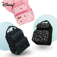 Disney Mickey Mouse Large Capacity Mummy Bag Baby Diaper Bag Travel Backpack Nursing Bags for Baby Mother Maternity Nappy Bags
