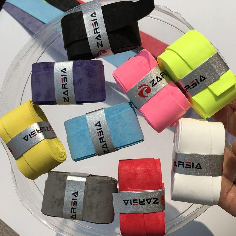 10 pcs ZARSIA bright color soft dry feel tennis overgrips,badminton racket,tennis racket grips