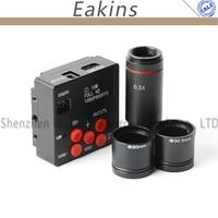 1080 P 16MP HDMI промышленный электронный окуляр цифровой Регистраторы видео Камера + 0.5X C Крепление объектива для биологического стерео микроско
