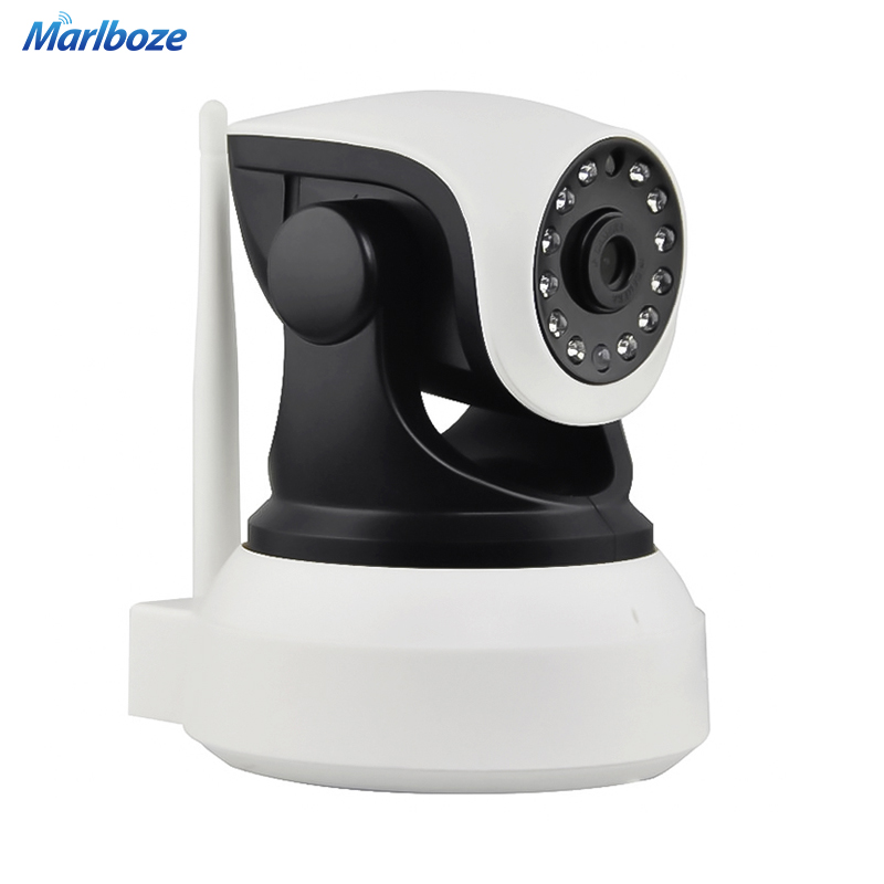 ФОТО Marlboze Wireless 720P HD IP Camera IR-Cut Night Vision P2P Baby Monitor Audio Record WIFI CCTV Onvif Indoor Surveillance Camera