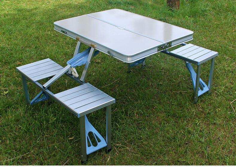 Exceptionnel Portable Aluminum Alloy Outdoor Tables Camping Beach Folding Tables U0026  Chairs  In Outdoor Tables From Furniture On Aliexpress.com | Alibaba Group
