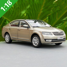 1/18 All New SKODA OCTAVIA Diecast Metal Car Model Toys For Boy Gift Collection With New Box Free Shipping(China)