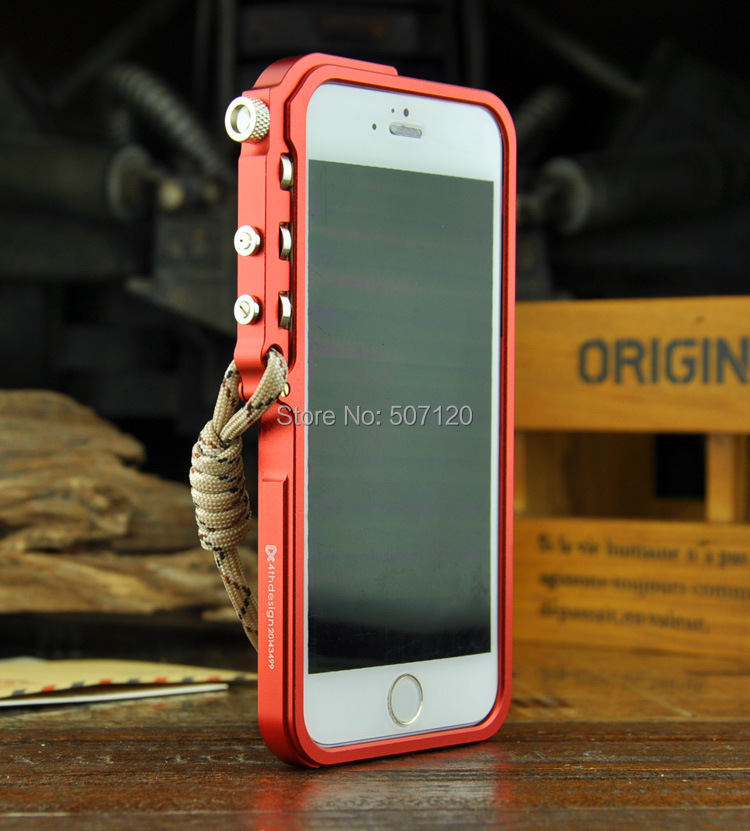 For Apple iphone 6 Metal bumper TRIGGER Tactical Edition for iphone6 4 7 inch premium metal
