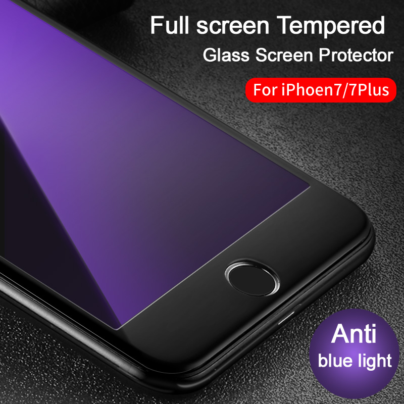 IPhone 7/7 plus Vpower Tempered Glass ekran qoruyucu Ultra İncə 3D - Cib telefonu aksesuarları və hissələri - Fotoqrafiya 2