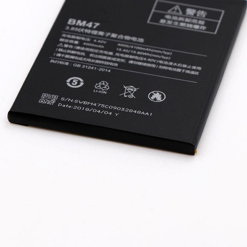 Mobile Phone Parts Mobile Phone Batteries Clever Bm47 4000mah Battery For Xiaomi Redmi 3 3s 3x 4x Hongmi 3 3s 3x 4x Bateria Batterij Accumulator+tools Cheap Sales