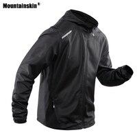 Мужская куртка Mountainskin  водонепроницаемая куртка для походов на весну и осень  для альпинизма  кемпинга  треккинга  спорта  ветровка VA522