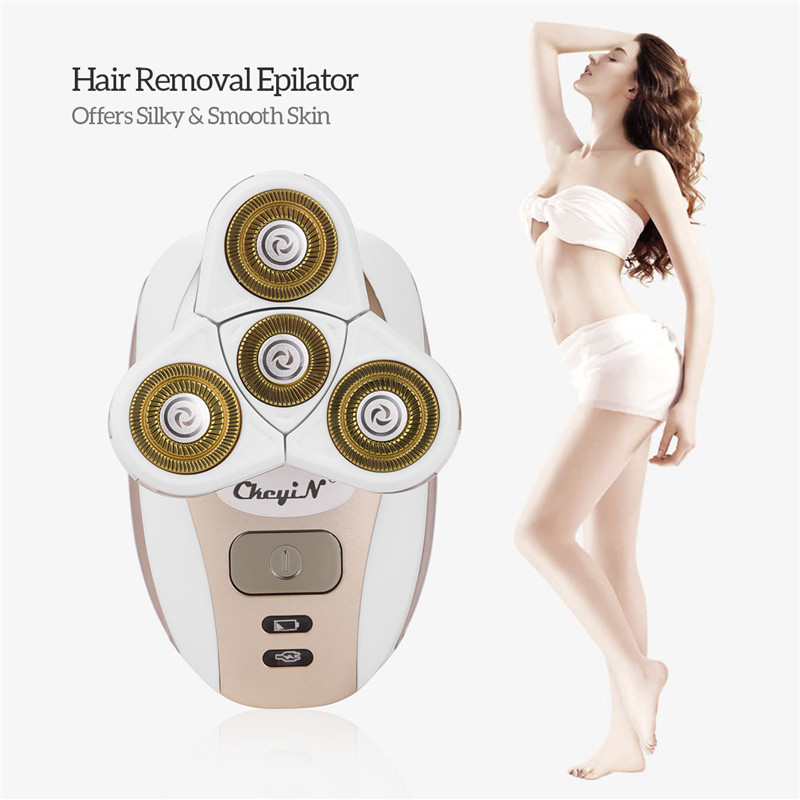 CkeyiN Hair Removal Epilator Safe Painless Electric Shaver for Both Men & Women 4-Blade Cordless Electric Razo for bikini body45CkeyiN Hair Removal Epilator Safe Painless Electric Shaver for Both Men & Women 4-Blade Cordless Electric Razo for bikini body45
