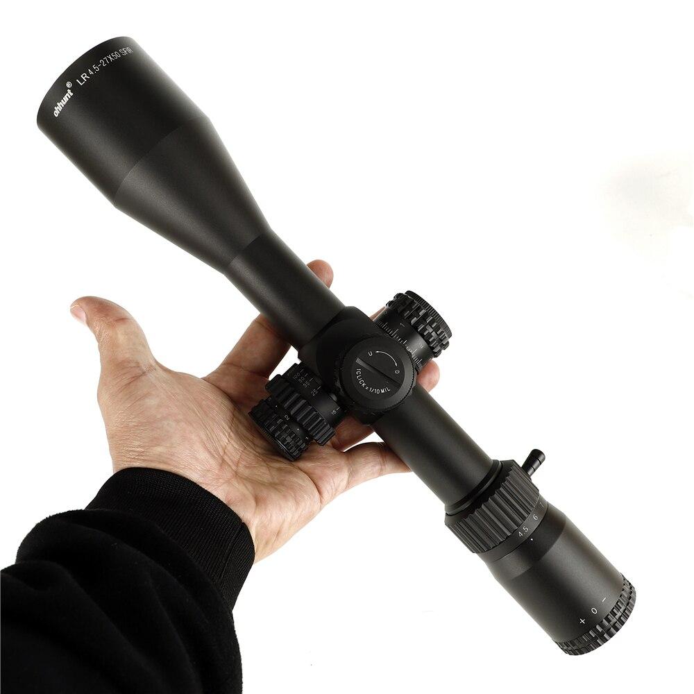 ohhunt LR 4.5-27X50 SFIR Mira telescópica Mil