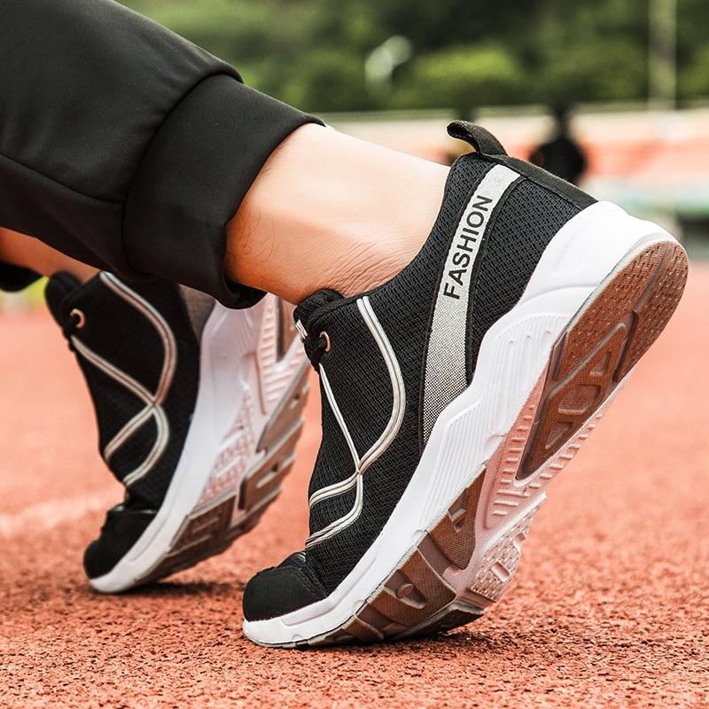28 Leves De Pour Alta Qualidade Juventude Homens Respirável Tênis 66 Da Chaussure Verão Hommes Moda Preto verde Casuais Sapatos Confortável Tamanho EOqcXWwcT