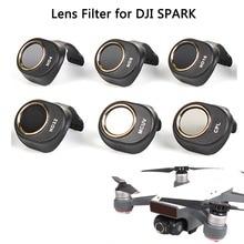 SunnyLife Объективы для фотоаппаратов фильтр HD Ясно Водонепроницаемый ND4 ND8 ND16 nd32 MCUV CPL Фильтры комплект ND диммер для DJI Spark Drone