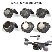 Sunnylife Camera Lens Filter HD Clear Waterproof ND4 ND8 ND16 ND32 MCUV CPL Filters Kit ND Dimmer for DJI SPARK Drone