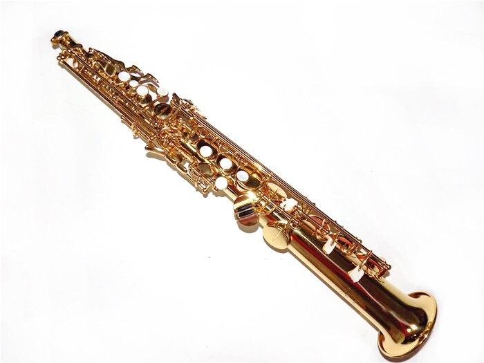Saxophone Soprano Bb avec étui ABS jinbao saxo soprano instruments de musique professionnel