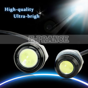 2pcs/lots New Eagle Eye Light  LED Car Tail Light Power Led Lens Back Up Car Lamp  For Camry And More  Free Shipping #CLED008M18
