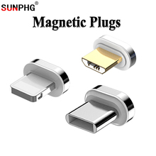 Tenth-Generation Magnetic Cable Plug Fast Charging Mobile Phone For iPhone 6 7 8 Adapter For Xiaomi Redmi Magnet Charger Plugs