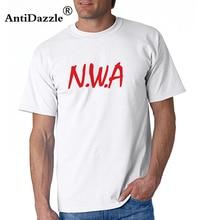 Antidazzle NWA (N.W.A.) Straight Outta Compton T Shirt Men s Hip Hop Rap  Short Sleeve 921df32626c