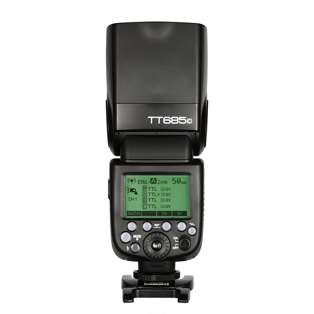 Godox TTL 2 4G HSS TT685 TT685C X1T C Transmitter For Canon Camera Flash Speedlite 600D