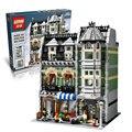 Verdulería 2462 unids ladrillos de construcción bloque establece compatible con lego creador lepin 10285 15008