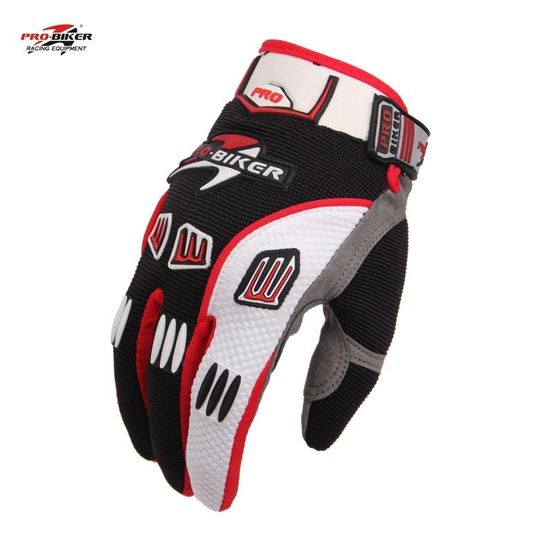 PRO-BIKER Full Finger Motocross Gloves Non Slip Guantes Luva Moto Racing Motorcycle Wear CE-02 - dansy's store