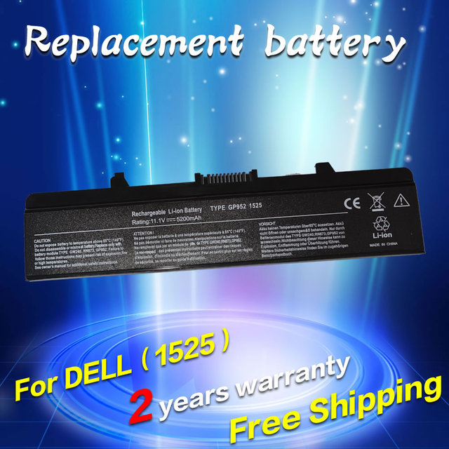 JIGU NEW Laptop Battery for Dell Inspiron 1525 1526 1545 1546 PP29L PP41L Vostro 500