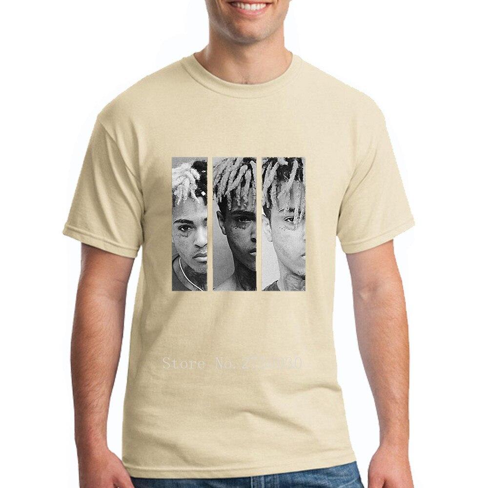 XXXtentacion Кружка выстрел Футболка Для мужчин хип-хоп Swag Raper Xxxtentacion принт Для мужчин s футболка 2018 летняя белая футболка Homme