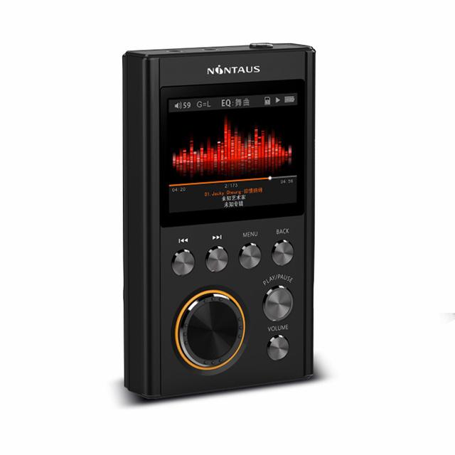 2016 A Estrenar NiNTAUS X10 DSD64 24Bit/192 Khz Reproductor de Música Sin Pérdidas de Alta Fidelidad de nivel de Entrada de Alta Calidad Mini deporte Reproductor de MP3