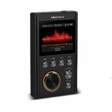 Nintaus x10 dsd64 16 ГБ Мини Спорт MP3-плееры 24bit/192 кГц начального уровня HiFi без потерь Портативный музыкальный плеер высокое качество dacwm8965
