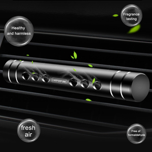 Image 4 - IKSNAIL Car Perfume Car Air Outlet Solid Fragrance Aromatherapy Sticks Creative Mini Metal Ornaments Perfume Clip Air Freshener