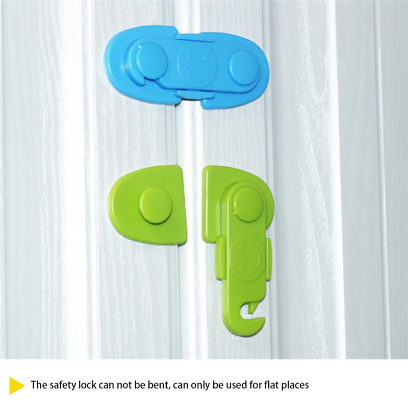 High-quality Children Baby Safety Lock Door Lock Two-Way 360-Degree Rotation Shape Changing Convenient