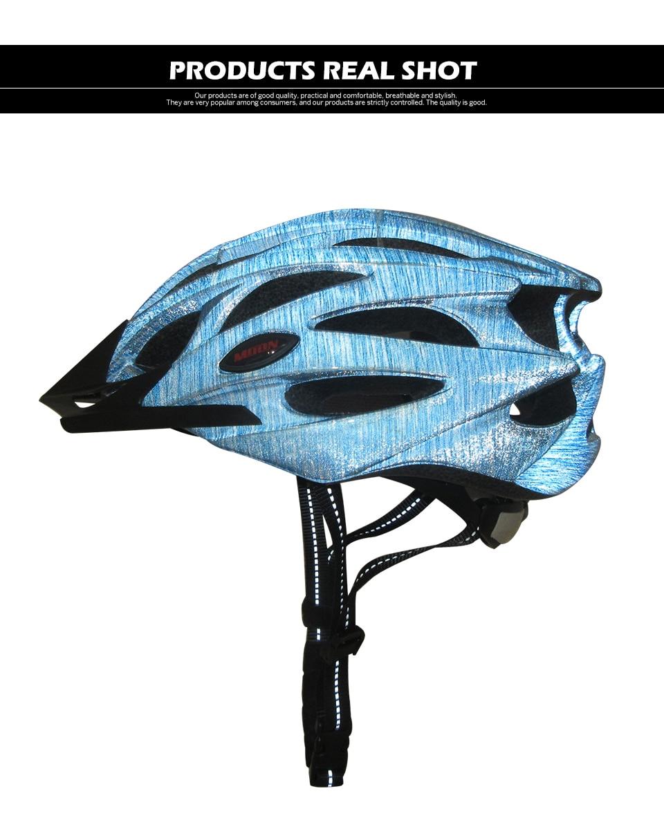 Bicycle Helmet Road Bike Riding Cycling Helmet Adjustable Ultralight for 54-64cm