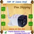 WIFI 720 P ONVIF Arsenal Led IR Cámara Bala Al Aire Libre de Seguridad SD tarjeta de Filtro de Corte IR Lente Megapíxeles 1.0MP IP Cam vista Nocturna