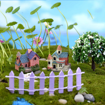 Vintage Craft Hot Sale 1PC Artificial Mini Micro Landscaping Miniature House Popular Garden Decoration Home Decoration 1