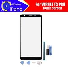Vernee t3 pro 디지타이저 터치 스크린 t3 pro + gifts 용 100% 보장 원래 유리 패널 터치 스크린 디지타이저