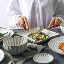 Yilala Plate Ceramic Dinner Dishes Flower Shaped Plates Creative Tableware Noodle Soup Rice Bowl Porcelain Dinnerware & Buy flower shaped plates and get free shipping on AliExpress.com