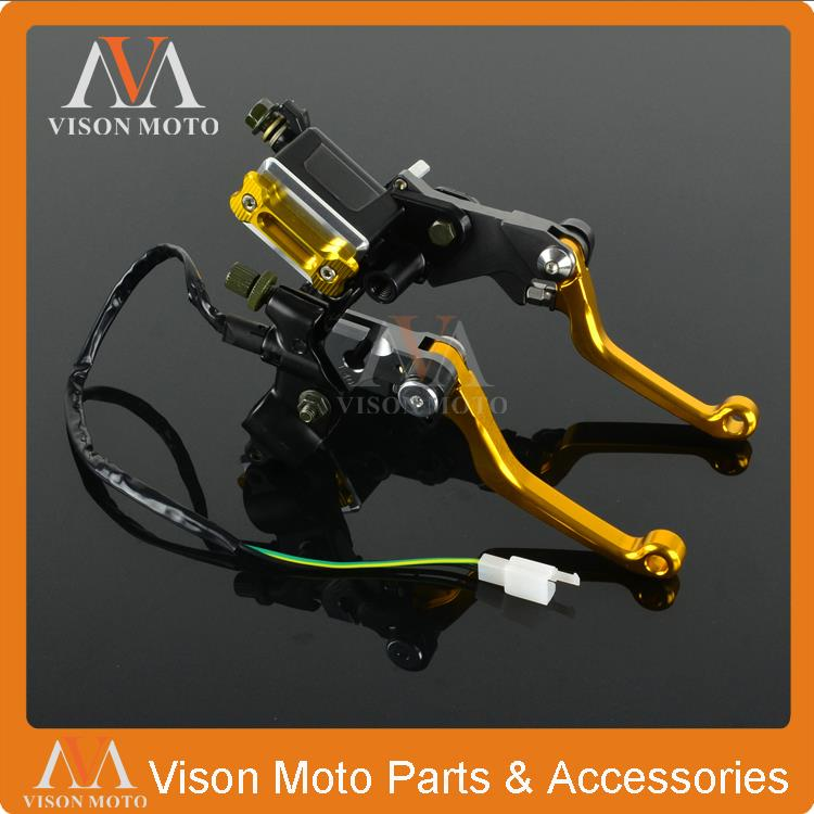 Billet Brake Lever Master Cylinder + Cable Clutch Perch For Suzuki RM85 RM125 RM250 RMZ250 RMZ450 RMX250 RMX450 Enduro Motocross