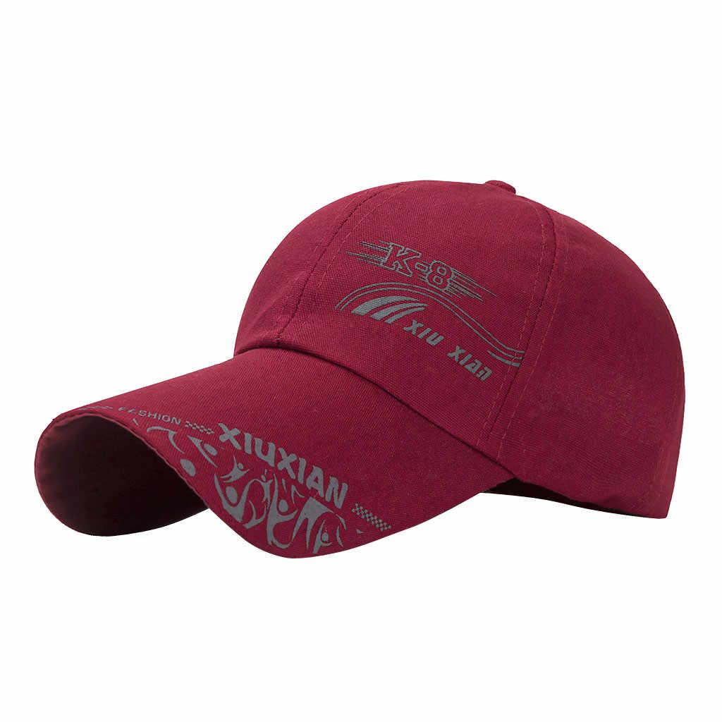 Boné de beisebol de verão novo algodão masculino chapéu da juventude carta unissex mulheres chapéus snapback hip hop chapéu osso garros # l5