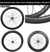 45mm carbon dimple clincher wheels 50mm mixed moonscape wheelsets 58mm bike road tubular golf rim 80mm aero spokes powerway hub