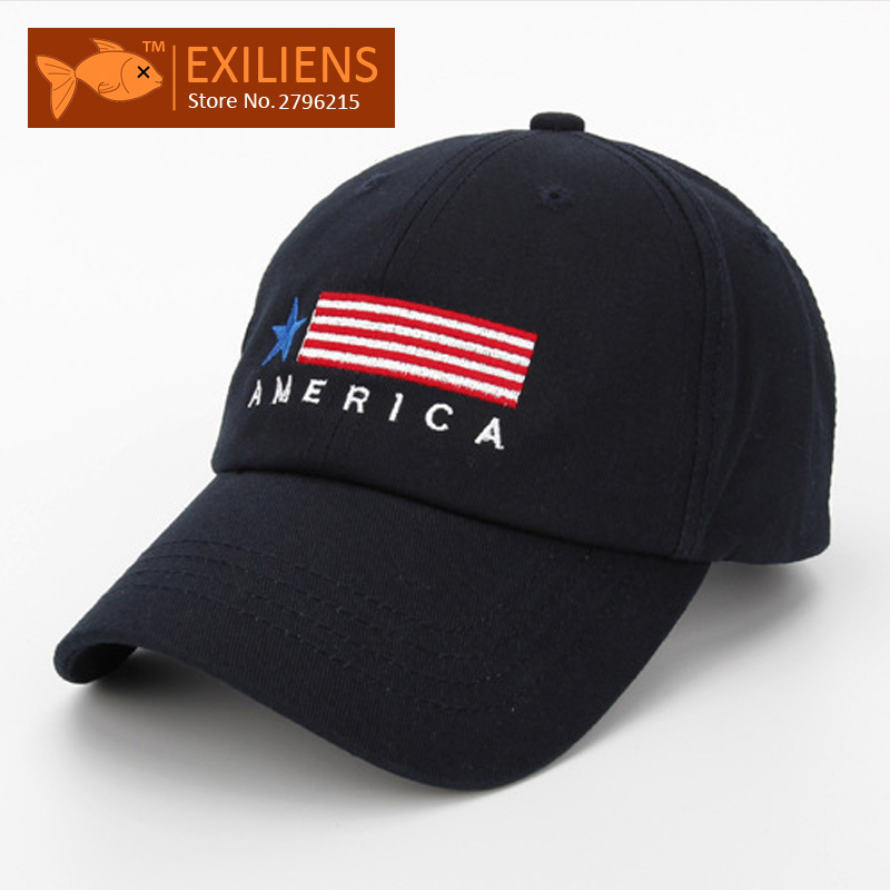 2017 New Fashion Brand Breathable AMERICA Black Snapback Caps Strapback Baseball Cap Bboy Hip-hop Hats For Men Women Fitted Hat [exiliens] 2017 fashion brand baseball cap 100% cotton board snapback caps strapback bboy hip hop hats for men women fitted hat