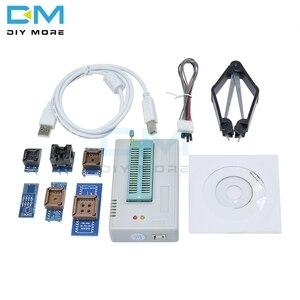 Image 1 - Tl866ii plus programador usb bios eprom flash 6 adaptadores soquete módulo extrator 13000 ic