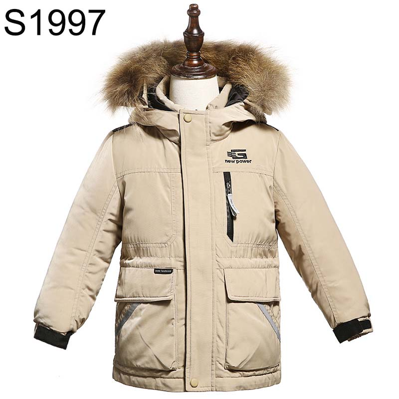 Winter Kids Warm Jackets 2017 New Brand Children Fur Collar Hooded Coats Outerwear Girls Boys Down Jacket 90% Duck Down Parkas kids clothes children jackets for boys girls winter white duck down jacket coats thick warm clothing kids hooded parkas coat