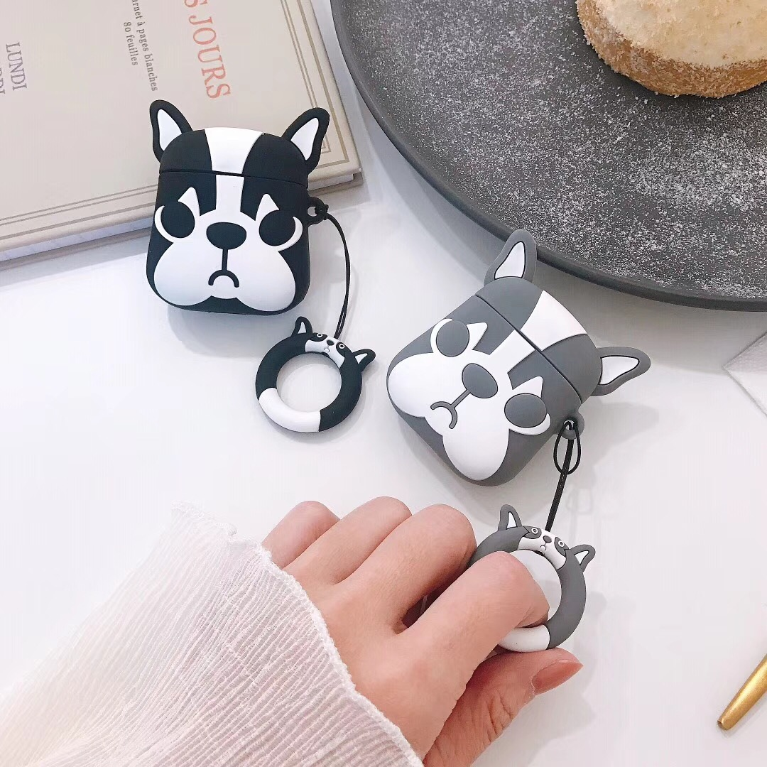 Cute Bulldog AirPod Case
