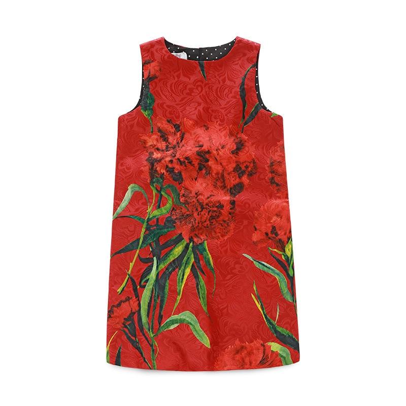 Mädchen Baumwolle Kleid Nelken Floral Marke All Season Prinzessin - Kinderkleidung - Foto 6