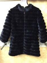 AAA imported mink fur coat mink tail fur coat women winter